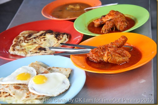 Roti Canai by CK Lam for TimeOut Penang 2012