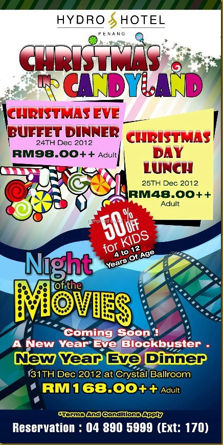 Christmas & New Year Dining in Penang by what2seeonline.com